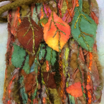 Beech Leaf Purse